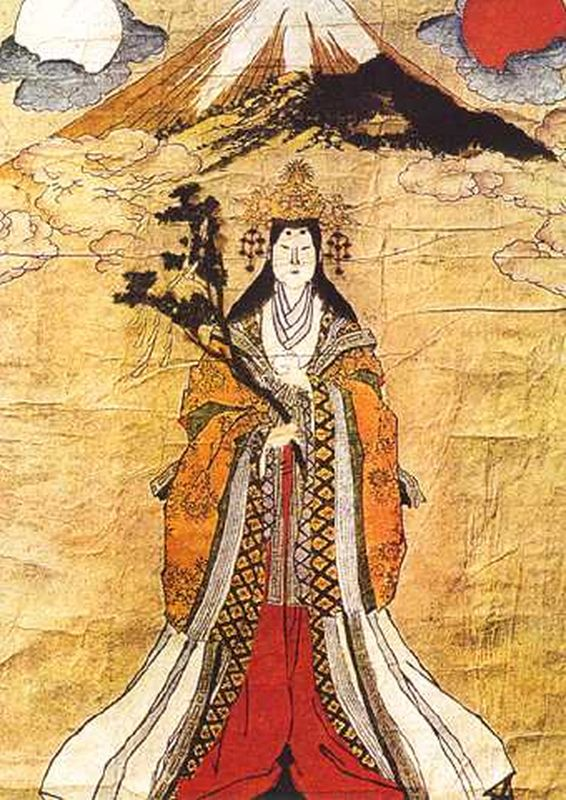 a study of amaterasu the supreme deity of the japanese religion of shintoism